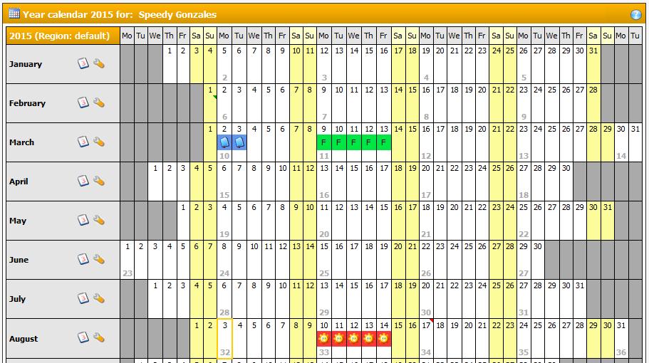Year Calendar View In Outlook : Teamcal pro lewe