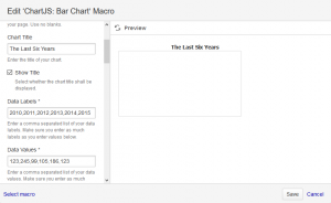 Bar Chart Macro Dialog