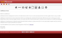 webmeasure