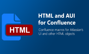 HTML and AUI Toolkit for Confluence