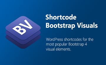 Shortcode Bootstrap Visuals